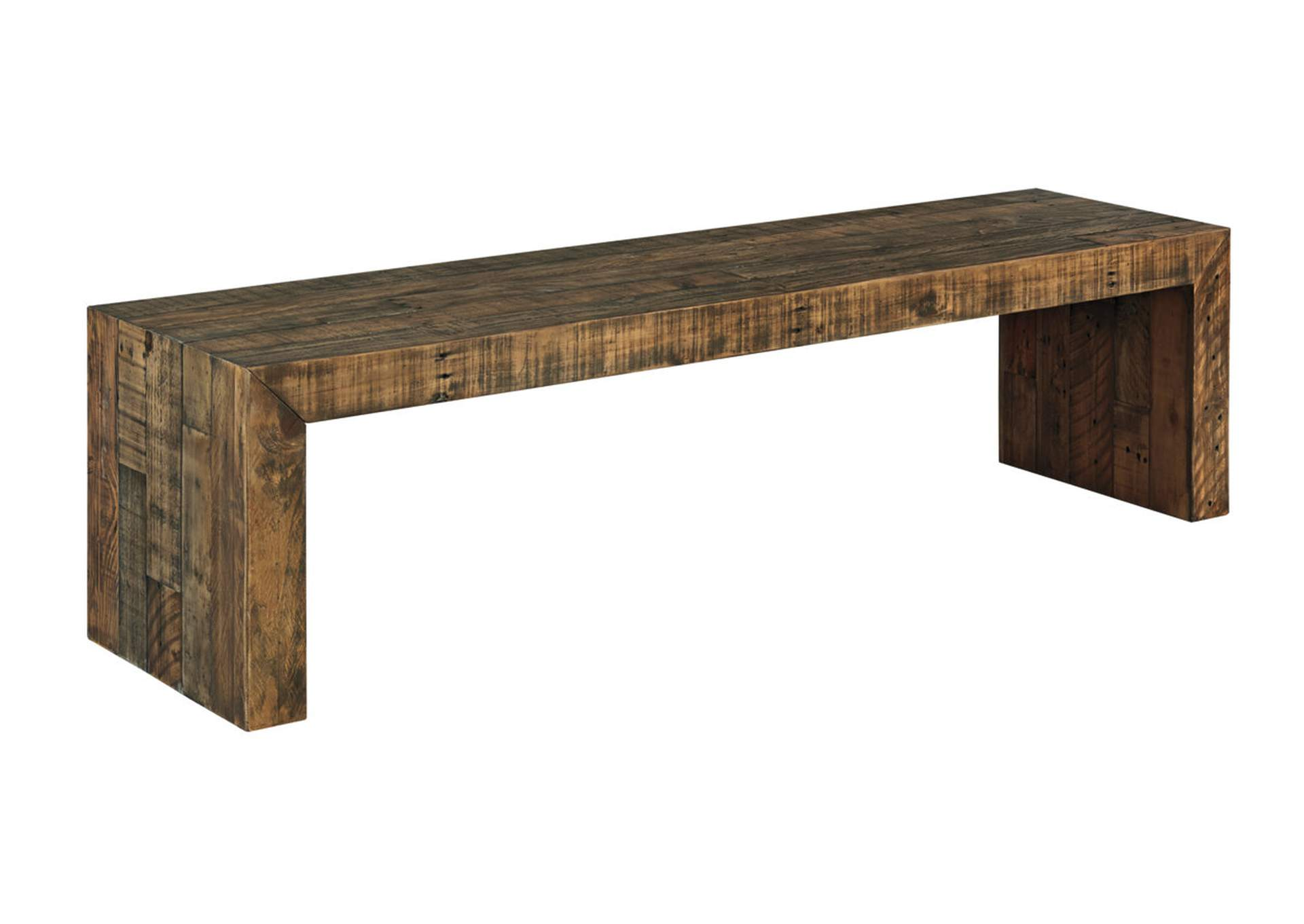 Sommerford Brown Large Dining Bench,Signature Design By Ashley