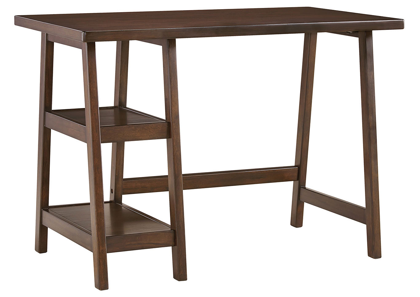 Lewis Medium Brown Home Office Small Desk,48 Hour Quick Ship