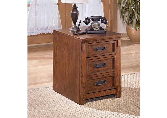 Cross Island 2 Drawer Mobile File Cabinet,Signature Design by Ashley