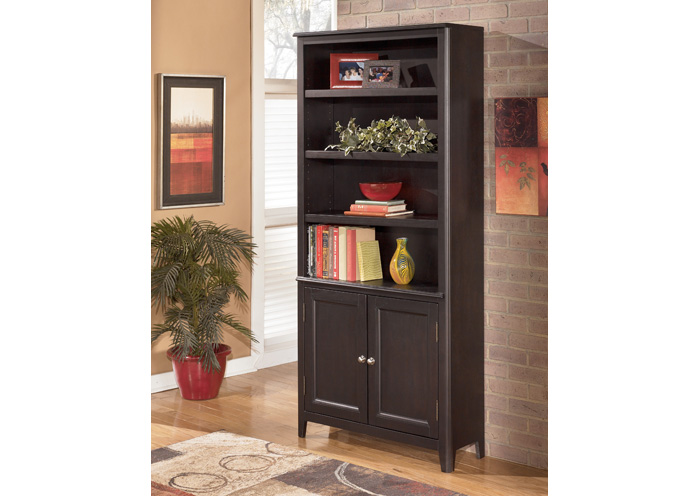 Carlyle Large Door Bookcase,Signature Design by Ashley