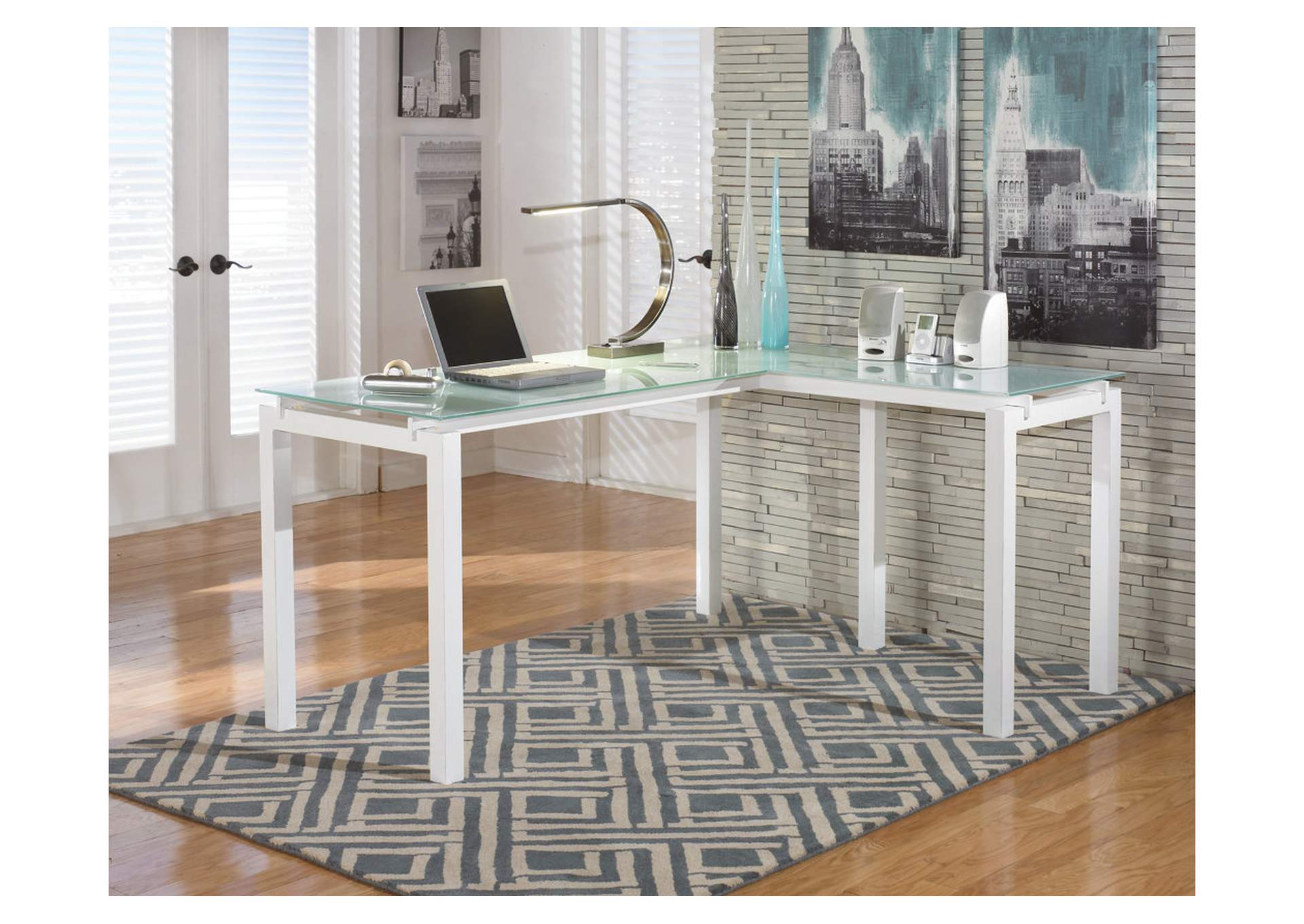 Baraga L-Desk,ABF Signature Design by Ashley