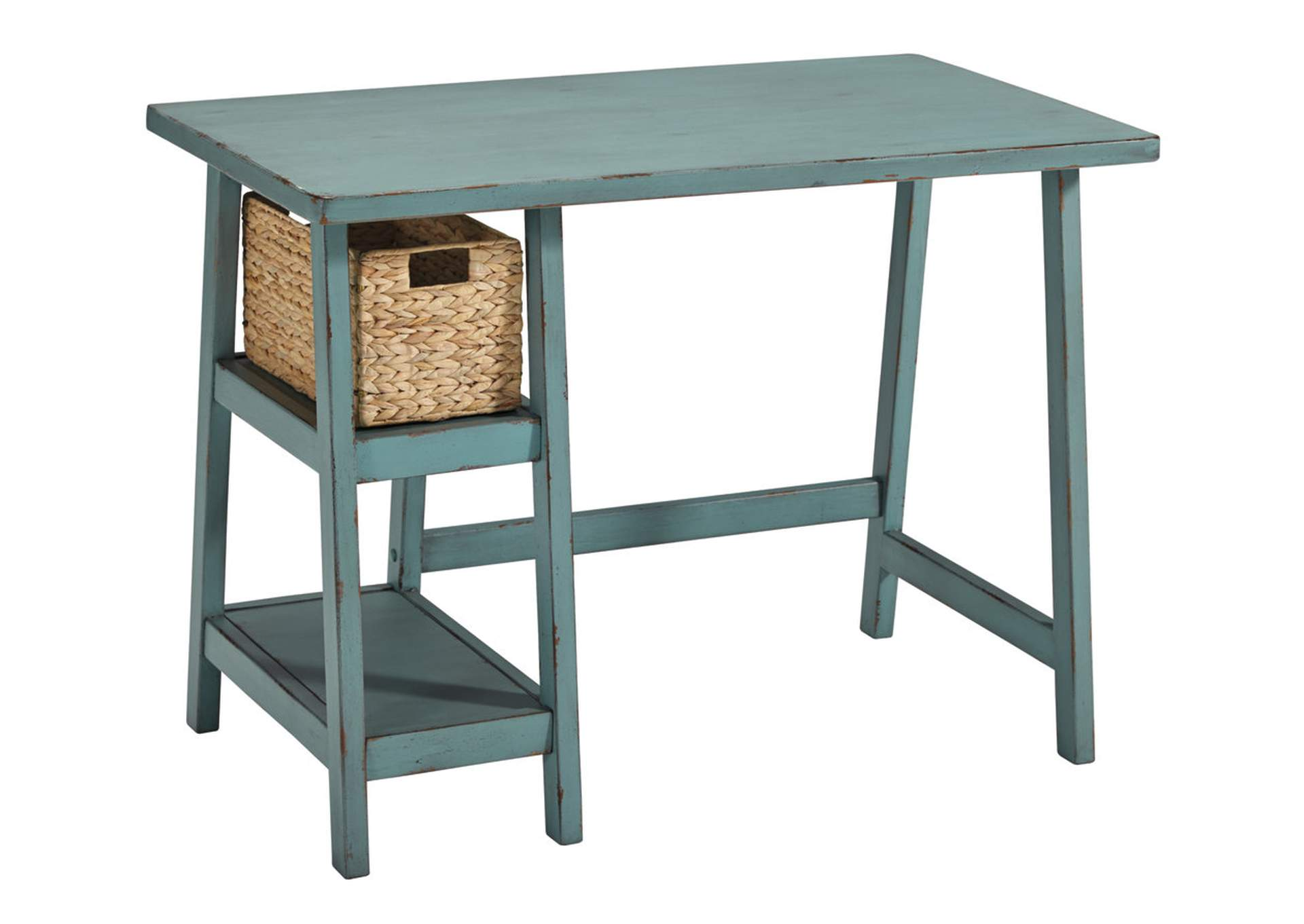 Kensington Furniture Mirimyn Teal Home Office Small Desk