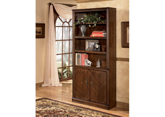 Hamlyn Large Door Bookcase,Signature Design by Ashley