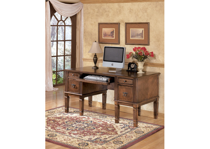 Hamlyn Storage Leg Desk,ABF Signature Design by Ashley