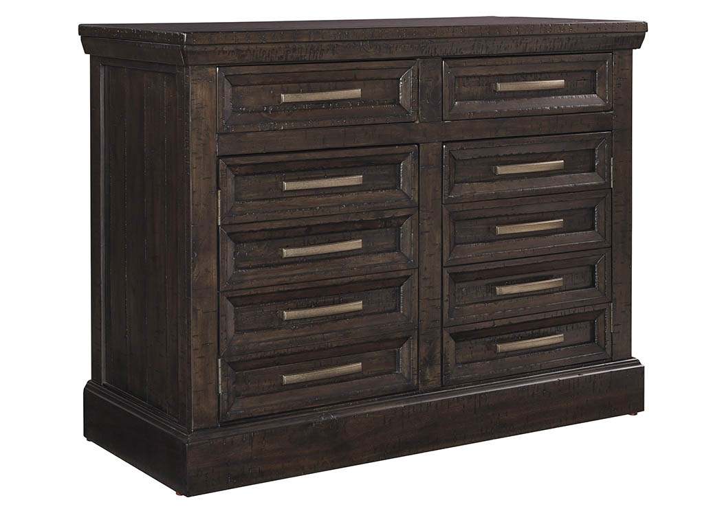 Townser Grayish Brown Credenza,Signature Design by Ashley