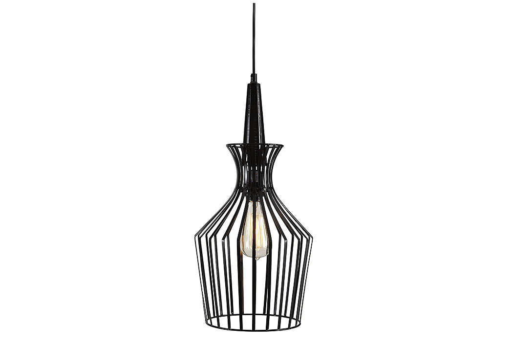 Ichiro Black Metal Pendant Light,ABF Signature Design by Ashley