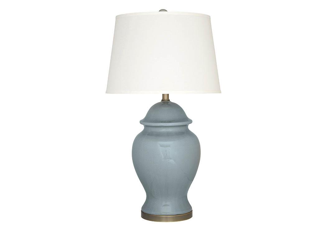 Fayetteville express darena blue ceramic table lamp darena blue ceramic table lampsignature design by ashley aloadofball Choice Image