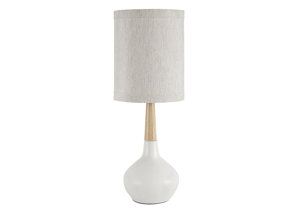 Stacia White Ceramic Table Lamp