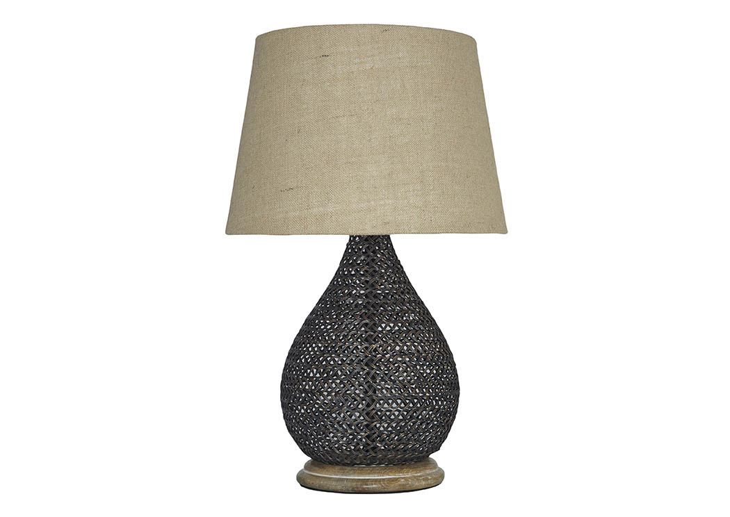 Aimon Bronze Finish Metal Table Lamp,Signature Design by Ashley