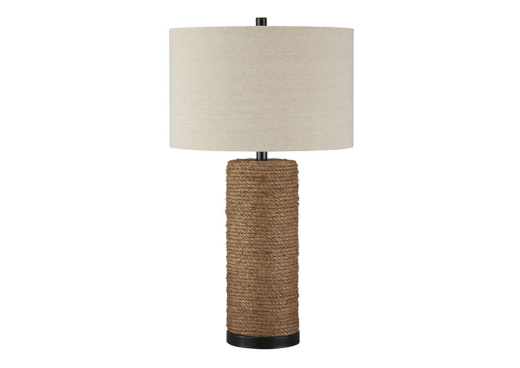Talbbart Brown Rope Table Lamp