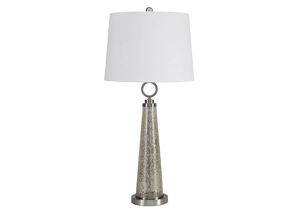 Adams Furniture And Appliance Arama Mercury Glass Glass Table Lamp