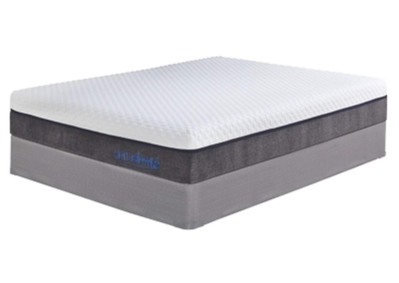 Mygel Hybrid 1100 Twin Mattress w/Foundation,Sierra Sleep
