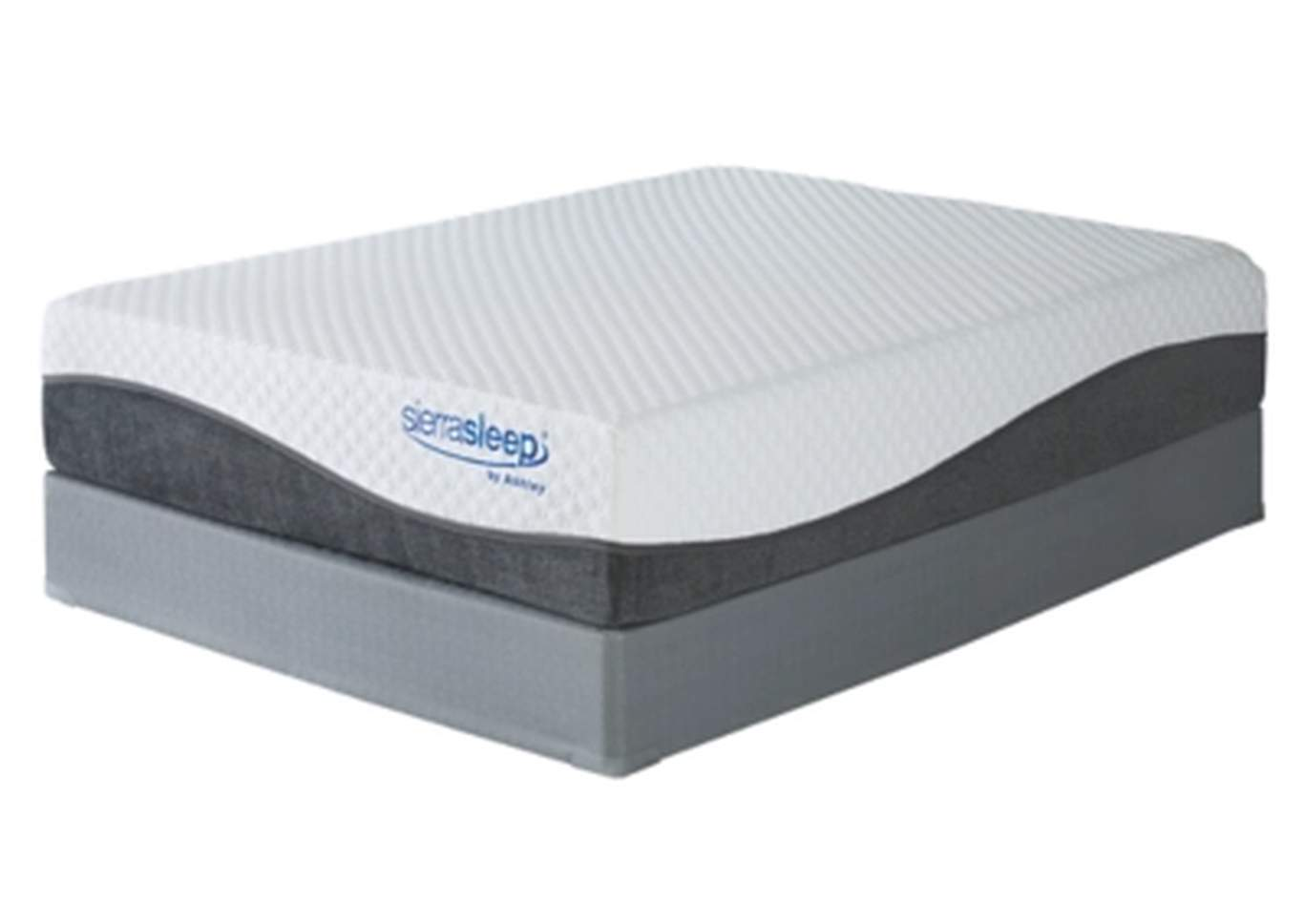 Mygel Hybrid 1300 King Mattress w/Foundation,Sierra Sleep by Ashley
