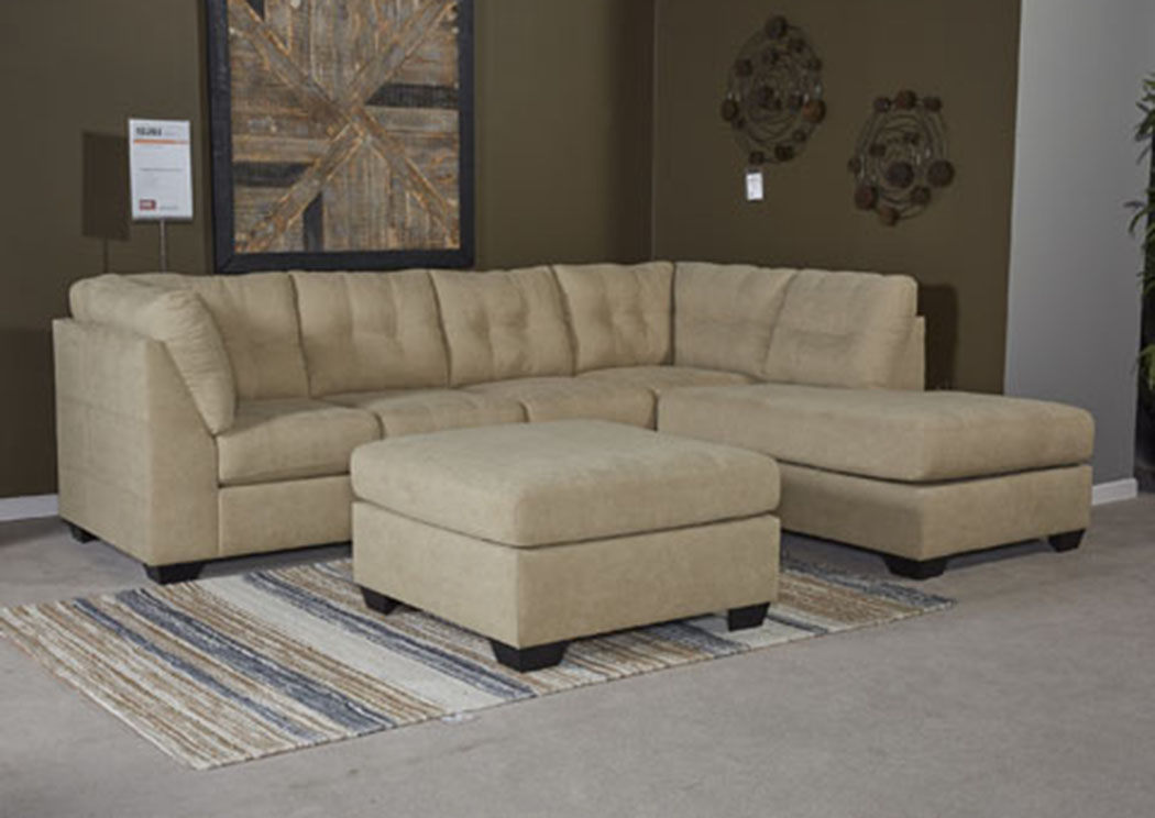 Maier Cocoa Right Facing Corner Chaise Sectional,Benchcraft