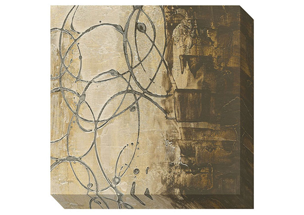 Barnet Beige/Brown/Gray Wall Art