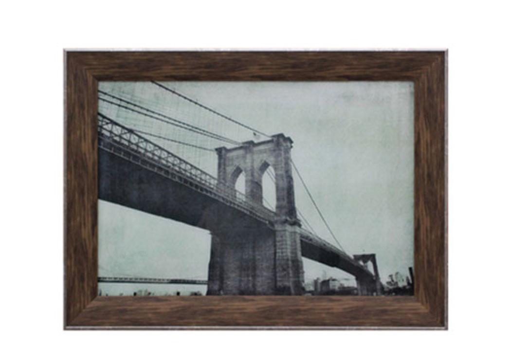 Frugal Furniture - Boston, Mattapan, Jamaica Plain, Dorchester MA Dyanne Brown/Ivory Wall Decor