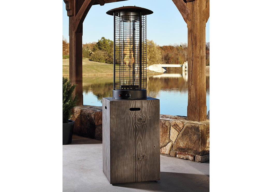Hatchlands Brown/Gray Patio Heater,Outdoor By Ashley