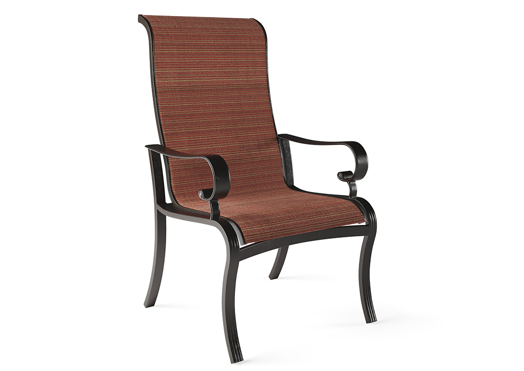 Apple Town Burnt Orange Sling Chair (2/CN),Outdoor By Ashley