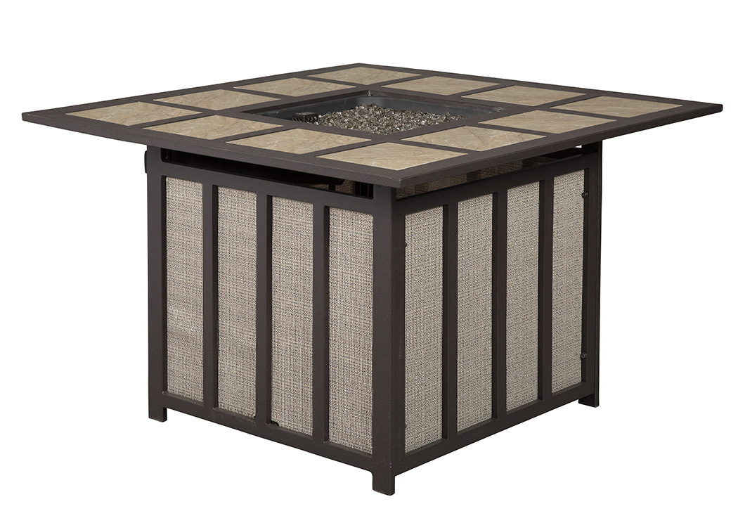 Oak Furniture Liquidators Wandon Square Fire Pit Coffee Table