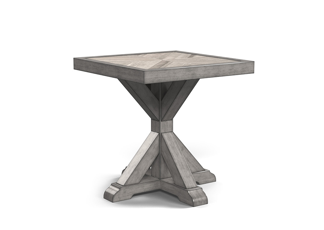 Beachcroft Beige Square End Table,Outdoor By Ashley