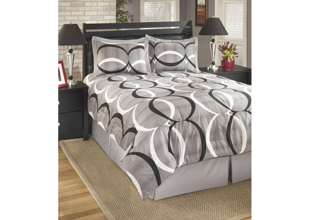 Primo Alloy Queen Top of Bed Set,Signature Design By Ashley