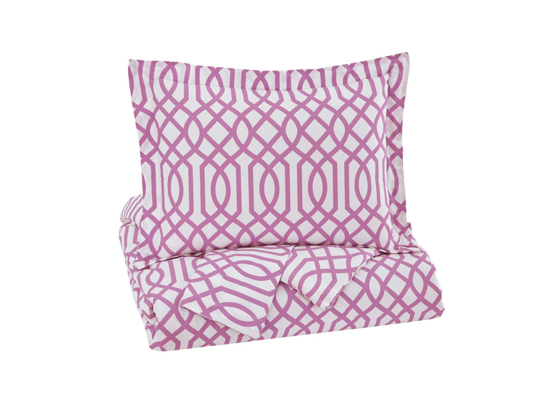 Loomis Lavender Full Comforter Set,Signature Design By Ashley