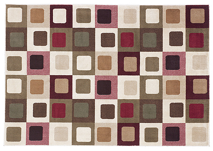 Sloane Red Medium Rug,Signature Design by Ashley
