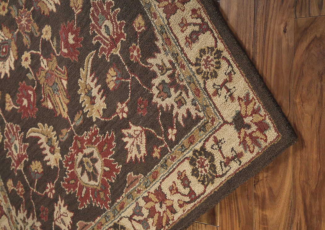 Stavens Brown Large Rug,Signature Design by Ashley