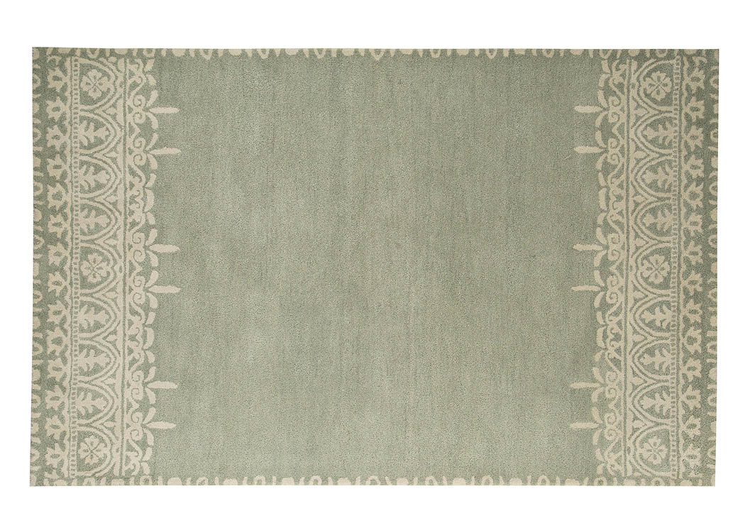 Brimly Green Medium Rug,Signature Design By Ashley