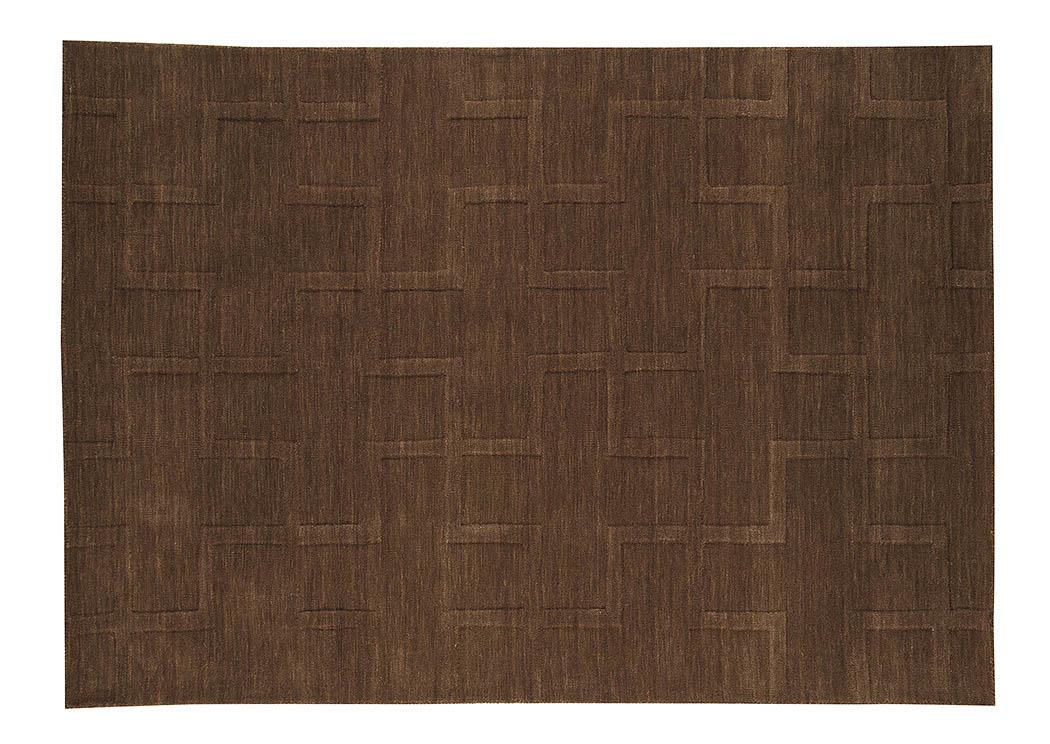 Teague Toast Medium Rug,Signature Design By Ashley