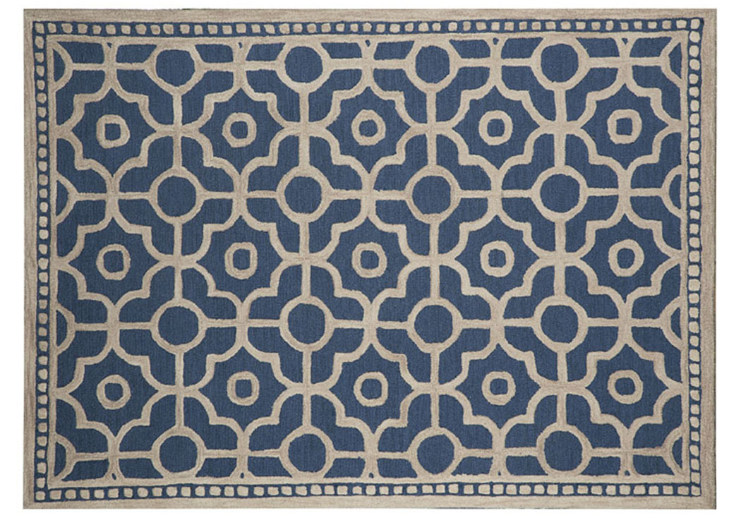 Bisbee Blue Large Rug,Signature Design by Ashley