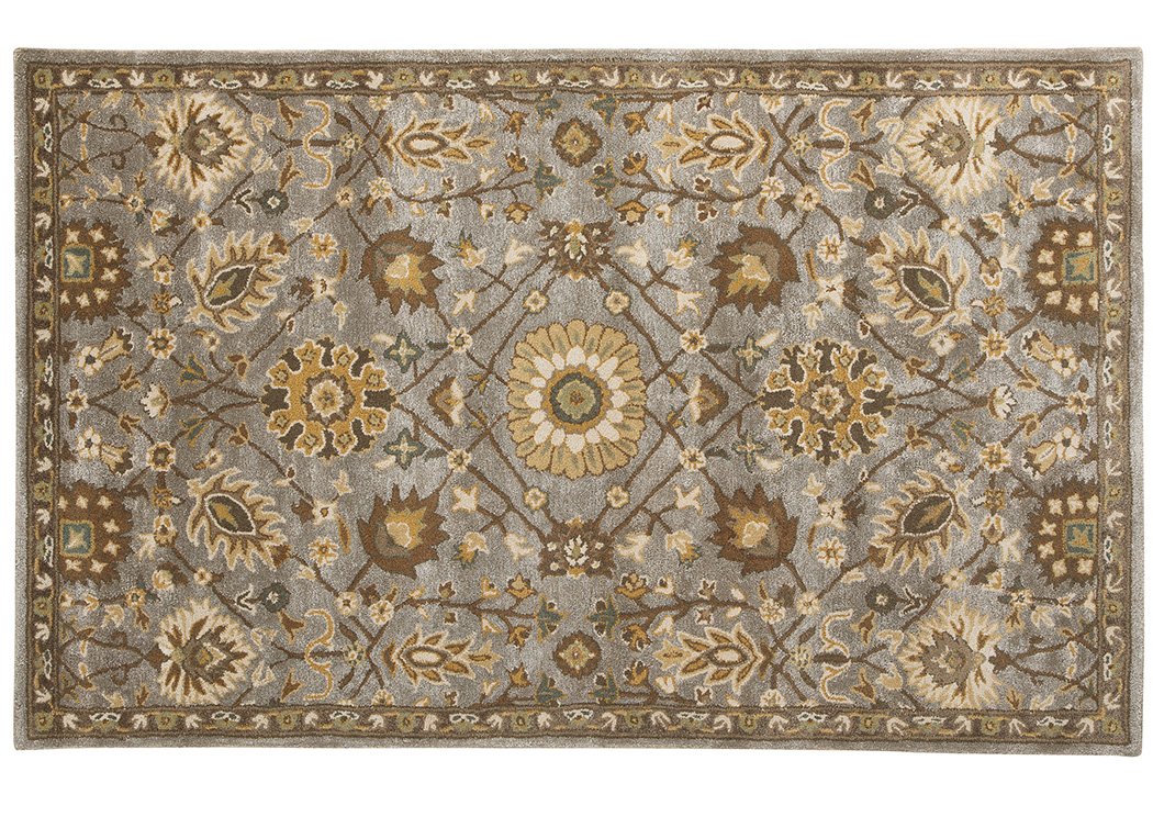 Dulani Green/Cream Medium Rug,Signature Design By Ashley