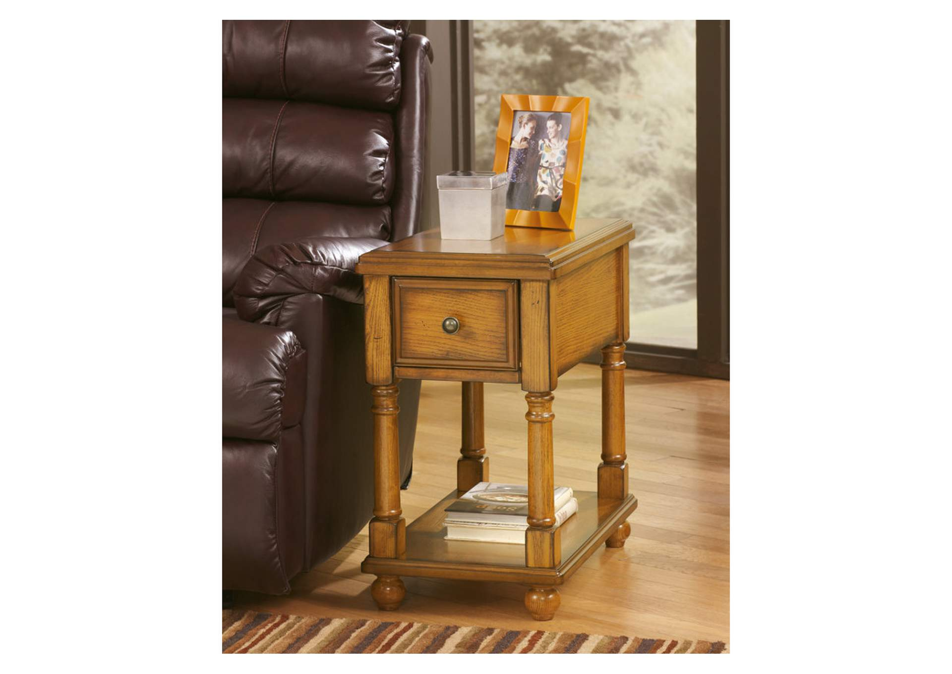 Brown Chair Side End Table,ABF Signature Design by Ashley