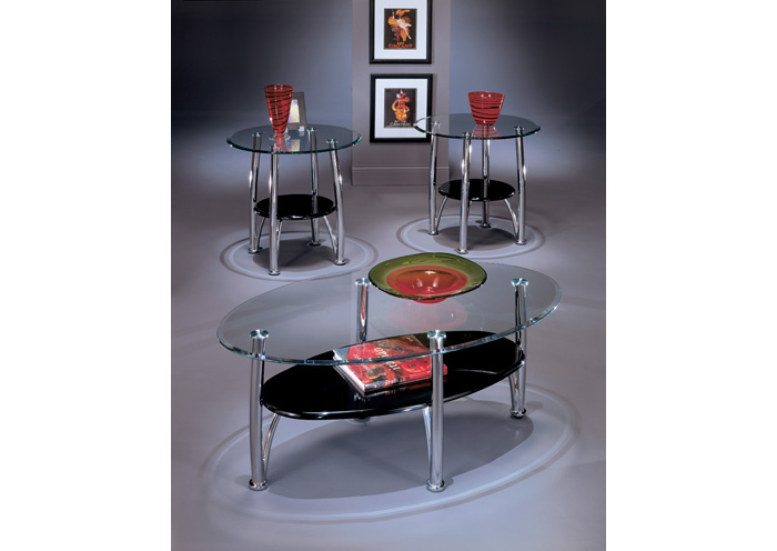 Dempsey Occasional Table Set (Cocktail & 2 Ends),Signature Design By Ashley