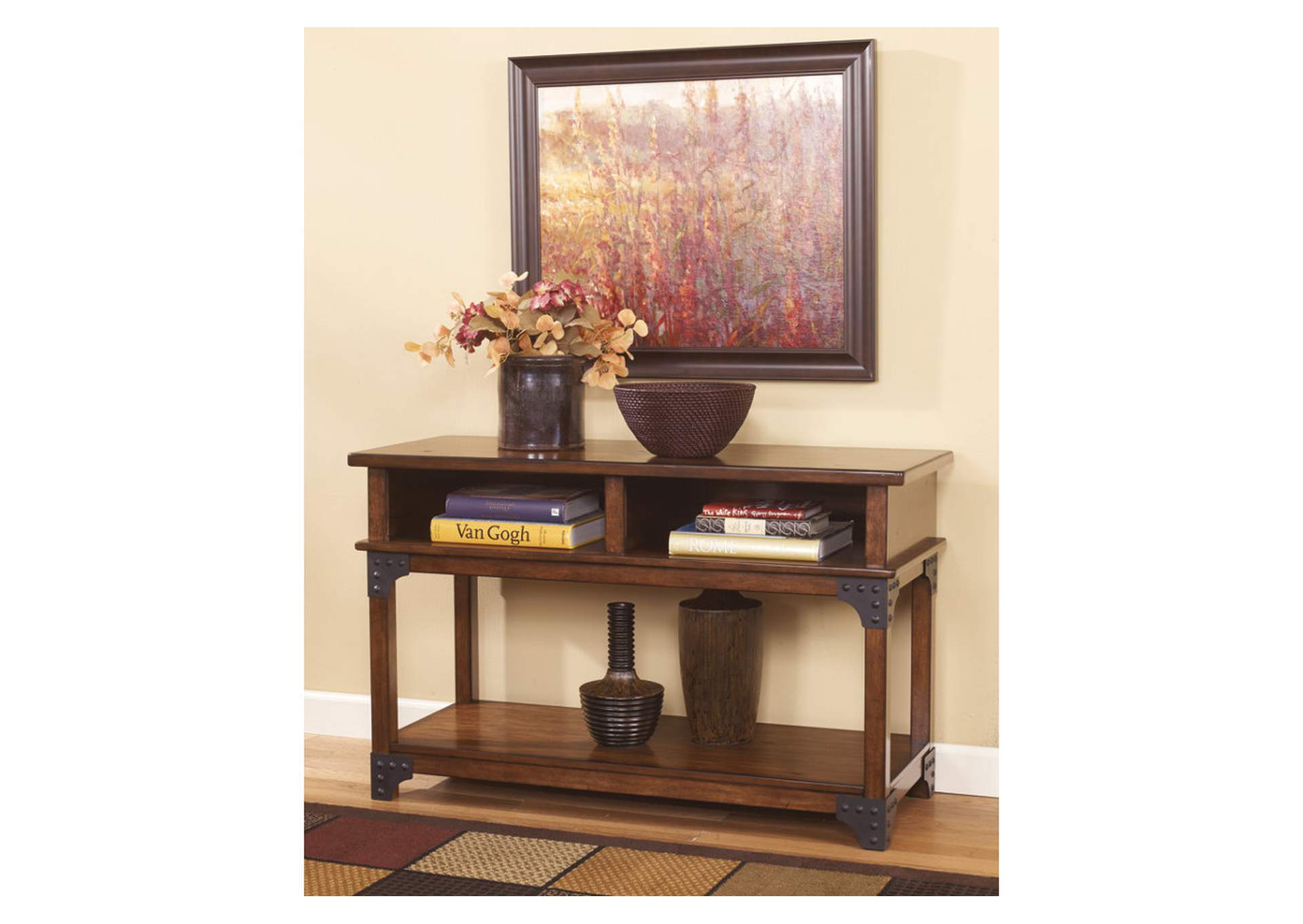 Adams Furniture and Appliance Murphy Console Sofa Table