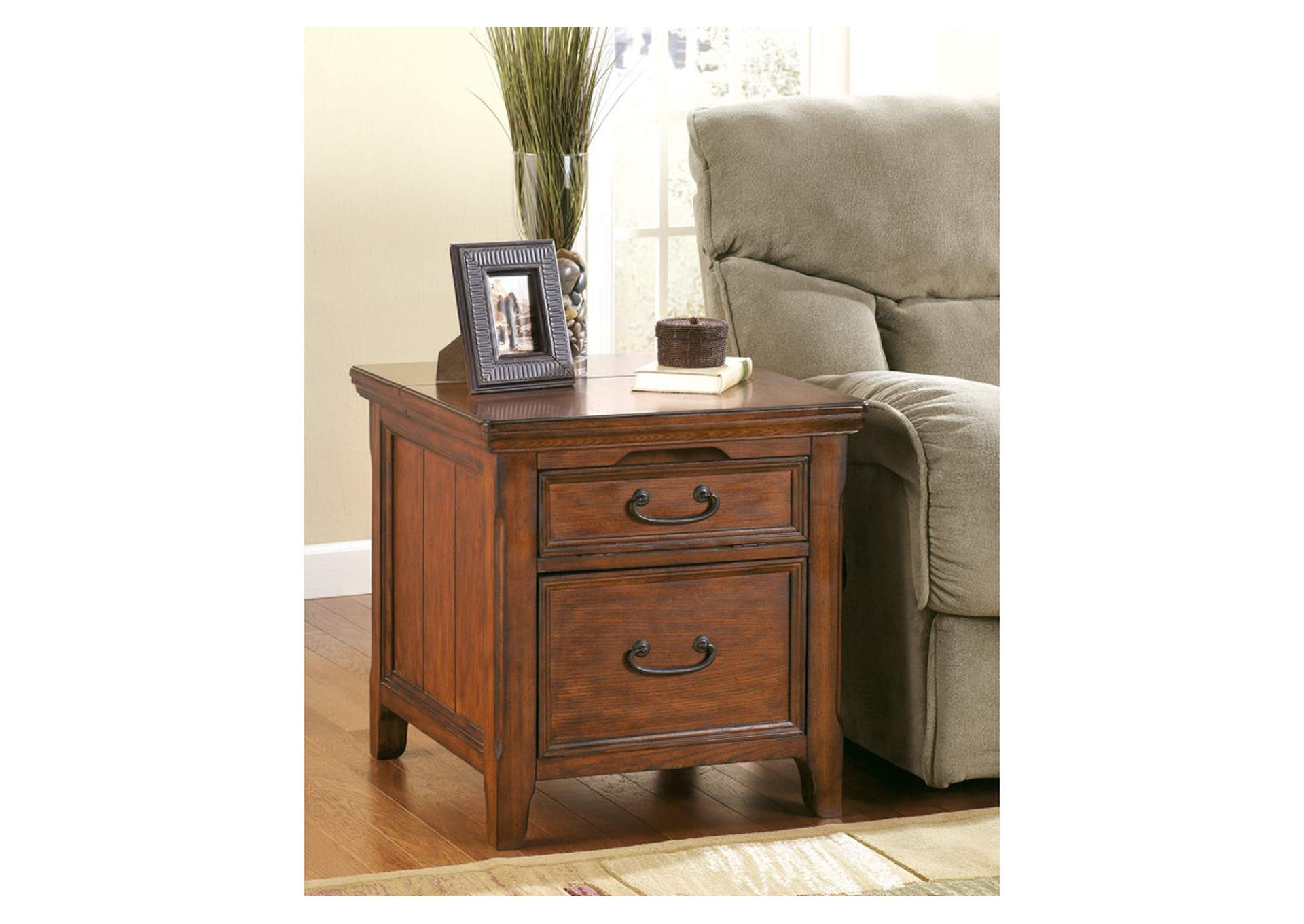 Major Discount Furniture Woodboro Media End Table