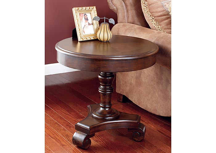 Brookfield Round End Table,Signature Design By Ashley