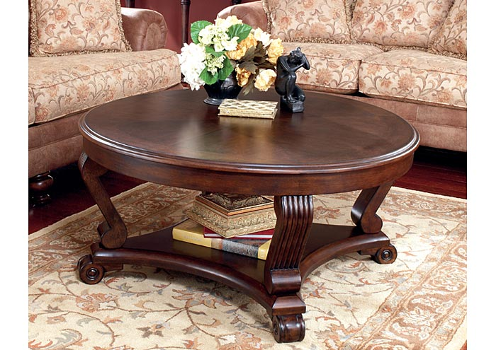 Roses Flooring And Furniture Brookfield Round Cocktail Table