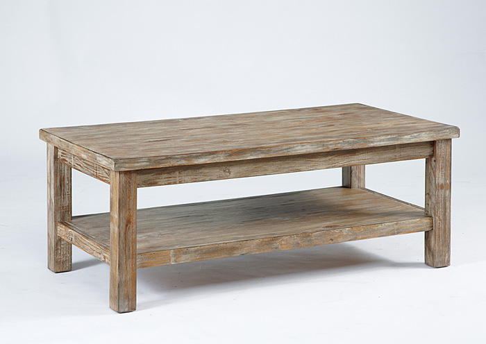 Rustic Rectangular Cocktail Table,Signature Design By Ashley