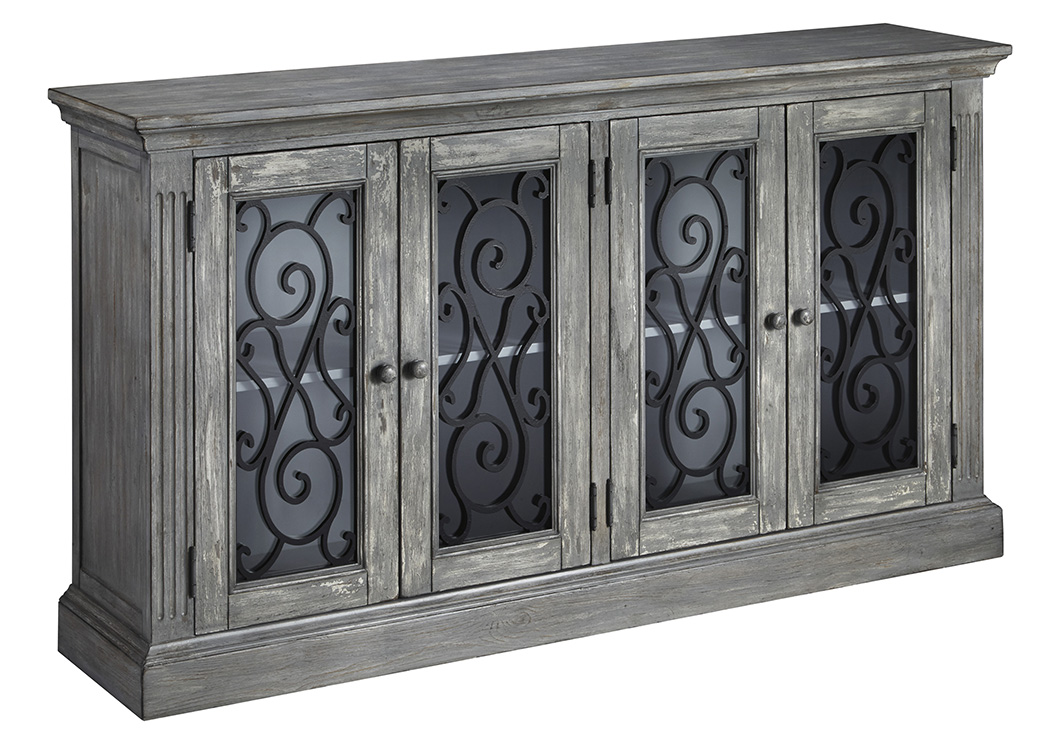 Mirimyn Multi Door Accent Cabinet,ABF Signature Design by Ashley