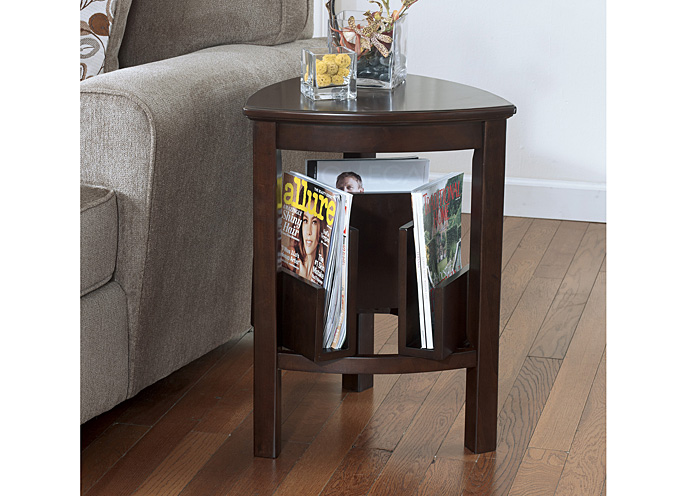 Larimer Triangle End Table,Signature Design By Ashley