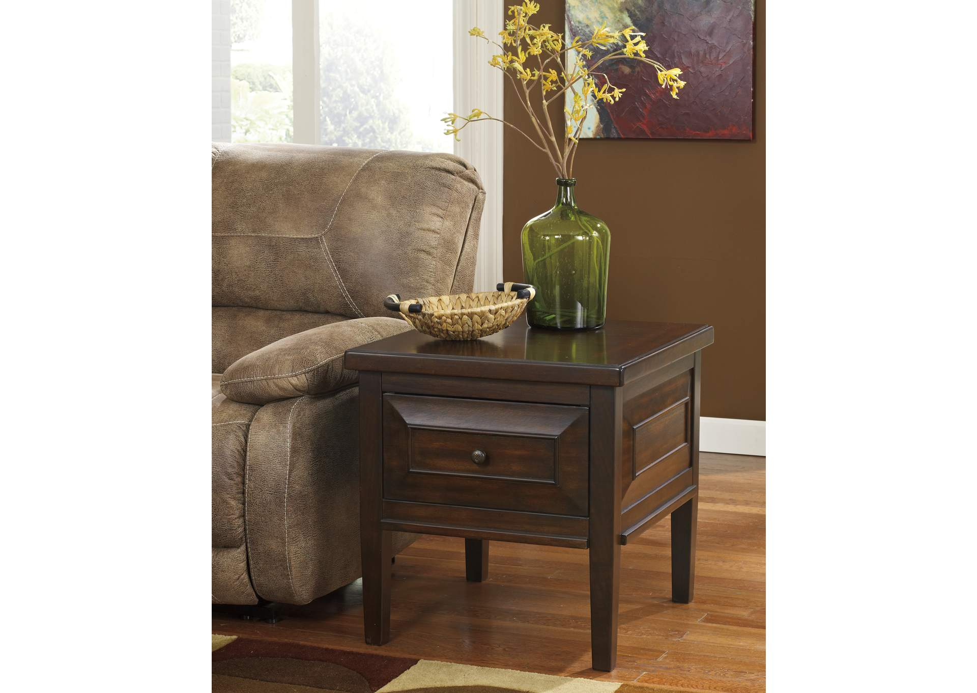 Hindell Park Square End Table,Signature Design By Ashley
