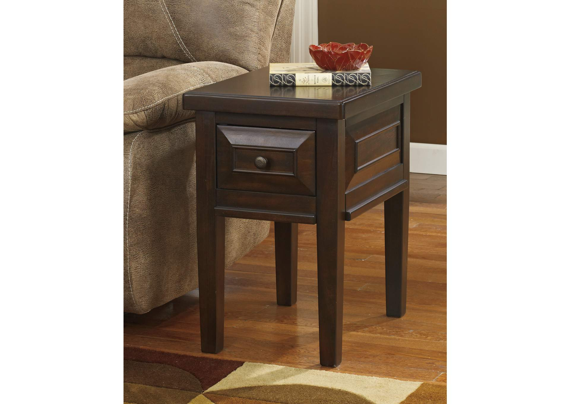 Furniture City Fresno CA Hindell Park Chair Side End Table