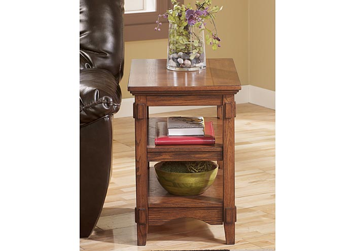 Cross Island Chairside End Table,Signature Design By Ashley