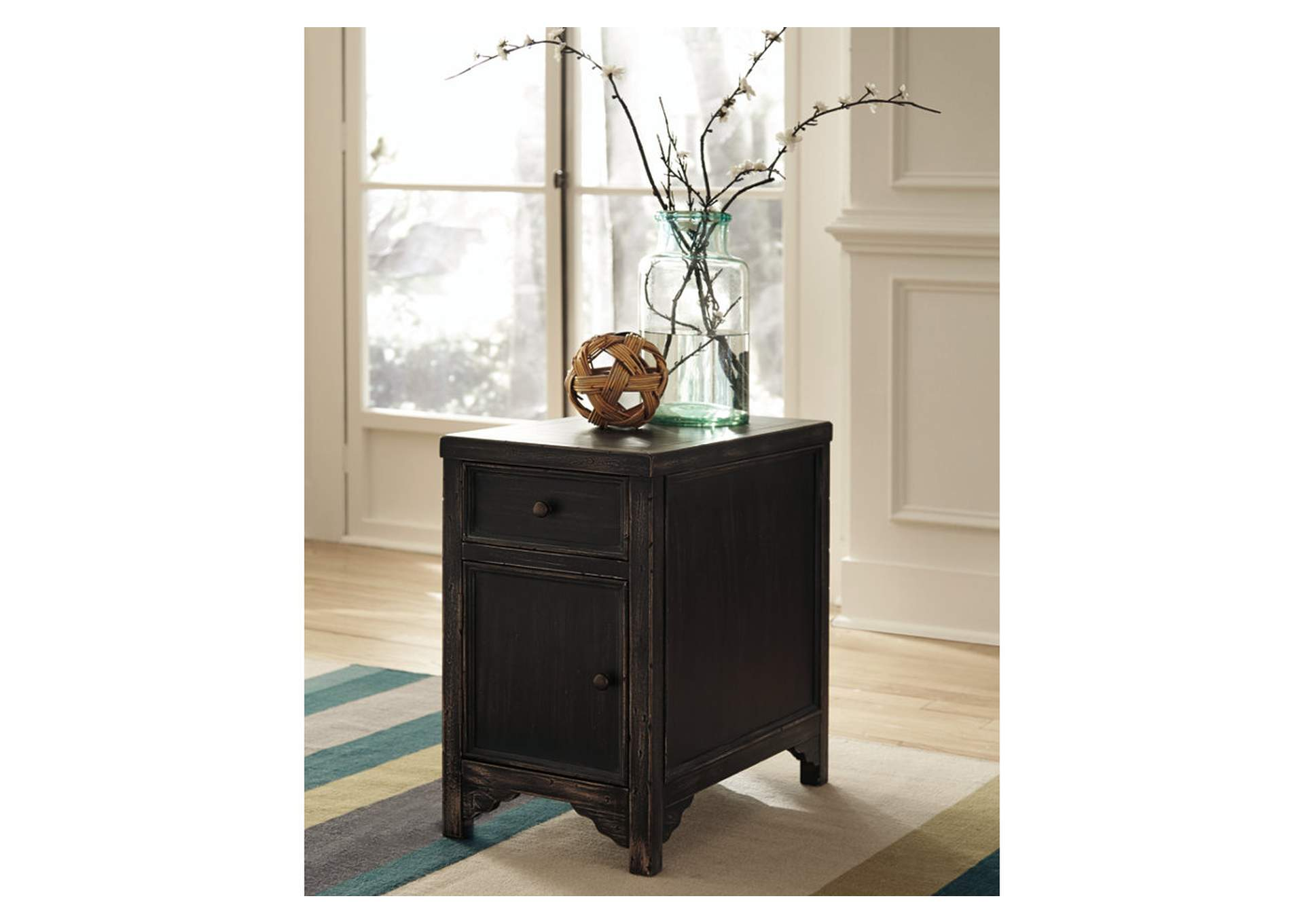 Gavelston Chair Side End Table,Signature Design By Ashley