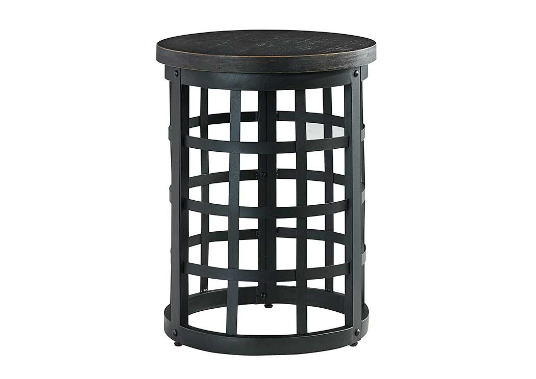 Marimon Black Round End Table,Signature Design By Ashley