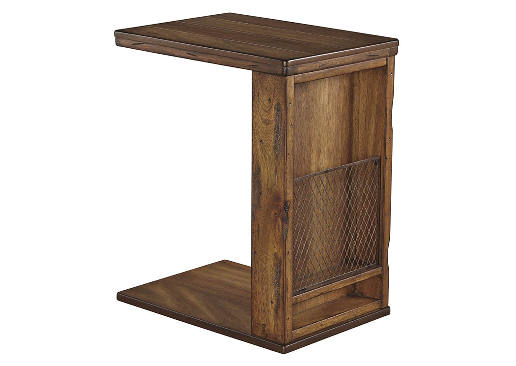 Tamonie Medium Brown Chair Side End Table,Signature Design By Ashley