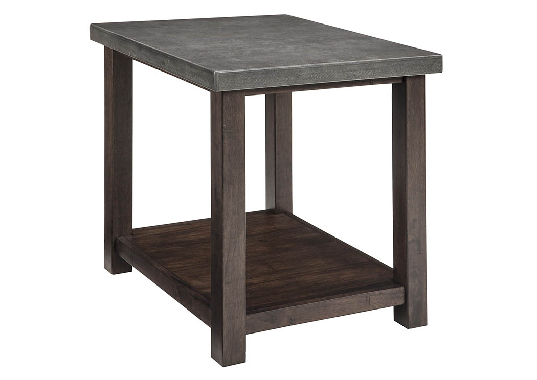 Curly 39 S Furniture Starmore Brown Chair Side End Table