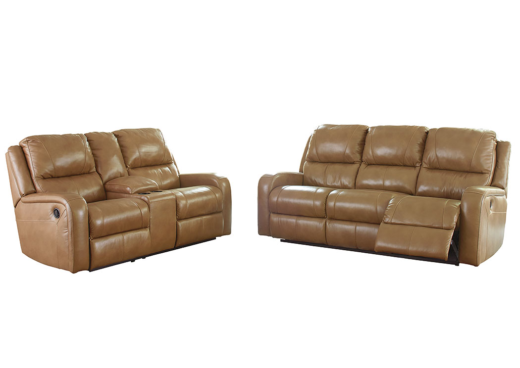 Transit Damaged Freight Roogan Blondie Reclining Sofa And Loveseat