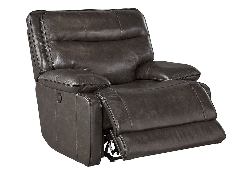 Palladum Metal Power Rocker Recliner,Signature Design by Ashley